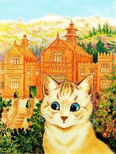 Cat near the house Accent Tile Mural Kitchen Bathroom Backsplash Ceramic 6x8