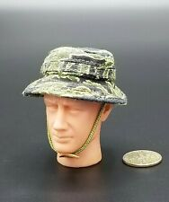 "1:6 Toy Soldier Vietnam Tiger Stripe Boonie Hat 12"" GI Joe Dragon BBI SEAL Dam"