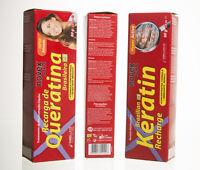 3 Brazilian Hair Treatment Keratin Recharge (Recarga de Queratina) 80g, New