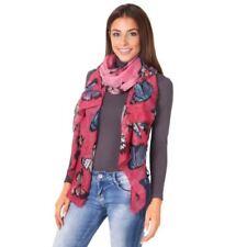 Bufandas y pañuelos de mujer de color principal rosa de talla única