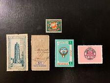 Monaco / France / Kuwait - Tax / Cinderella / Fiscal / Revenue Stamps - Mc506