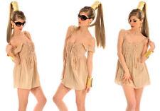 Vestiti da donna in cotone con spalline senza maniche