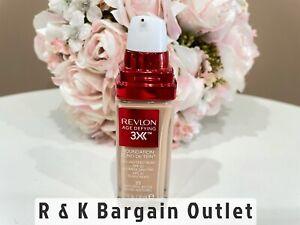 Revlon Age Defying Foundation Makeup SPF20 # 35 Natural Beige 1 Oz Read