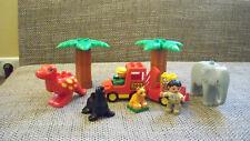 1x Lego Technic Auspuff Palmensegment 2536 neu hellgrau Strunk Palmenstamm