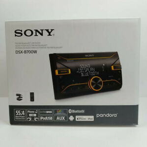 New SONY DSX-B700W Double DIN Media Receiver - Bluetooth, Remote, Microphone
