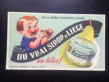 Buvard Sirop de Liège Blotter TBE