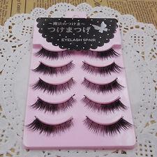 NEW  Brand Diamond Lash NO03 Winged Eye Lashes Thick False Eyelashes 5 Pairs