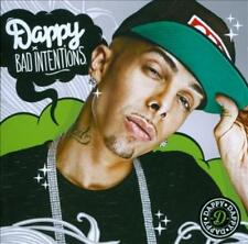 DAPPY - BAD INTENTIONS NEW CD