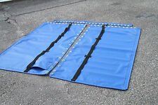 Hobie Cat 16 Royal Blue Vinyl Trampoline TWO Pocket 4 Point Adjustable Straps