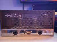 Dynaco Dynakit Stereo -70.  Tubes EL34 Vacuum tube amps has Cage+Cord