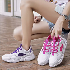Women''s Mesh Sneakers Running Shoes Wedge Hidden High Heels Lace Up Shoes