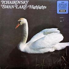 SPA 224 Tchaikovsky Swan Lake Highlights Jean Morel 1972 Decca Stereo NM/EX