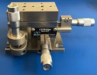 NEWPORT 561D-XYZ ULTRALign Precision Linear Stage + 3 SM-13 Micrometers