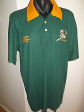 Springboks South Africa Rugby Union Men's Rugby Polo Shirt Size XL