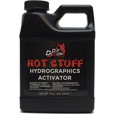 Dip Demon®  HOT STUFF Hydrographic Hydro Dip water transfer Activator 16oz Pint