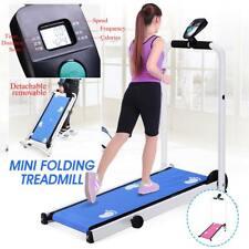 Electric Foldable Treadmill LED Display Jog Space Walk Machine Aerobic Fitness