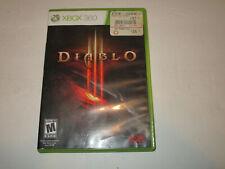 Diablo 3 III (Microsoft Xbox 360) Video Game complete in VG condition