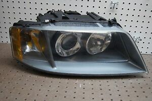 2002 2005 AUDI A6 QUATTRO RIGHT PASSENGER XENON HEADLIGHT OEM 2003 2004