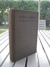 JOSEPH CONRAD THE MAKING OF A NOVELIST BY JOHN DOZIER GORDAN 1940 SIGNED