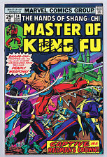 Master Of Kung Fu #34 Signed w/COA By Paul Gulacy 1975 Marvel Comics High Grade