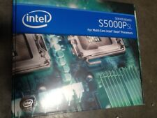 Intel S5000PSLSASR, LGA771 Socket Motherboard E11025-103 Server Board New Retail