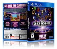Sega Genesis Classics - ReplacementPS4 Cover and Case. NO GAME!!