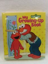 NEW My Growing Up Book Elmo W/Jim Henson's Muppet's Hardcover By Merrigold Press
