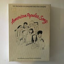 American Popular Song Various Artists 1984 Smithsonian CBS Cassettes & Book