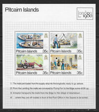 PITCAIRN ISLANDS , NEW ZEALAND ,1980, PHIL. EXPO , S/S PERF ,MNH , $3.25