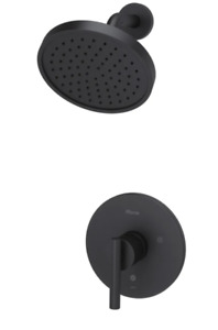 Pfister LG89-7NCB Contempra 1-Handle Shower Trim ONLY in Matte Black, NEW