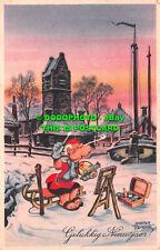 R503249 Gelukkig Nieuwjaar. De Muinck. Marten Toonder. 1922