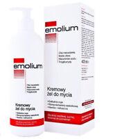 EMOLIUM Cream gel for washing 400 ml, EMOLIUM Kremowy żel do mycia 400 ml