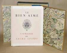 LE BIEN-AIME Comédie de Sacha Guitry, ill. G. LEPAPE, signé par l'auteur 1949