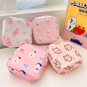 Rabbit Tampon Bear Storage Bag Coin Purse Napkin Pouch Sanitary Pads Bag