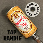 SWEET vintage LORD CHESTERFIELD ALE CAN beer TAP HANDLE marker steel YUENGLING