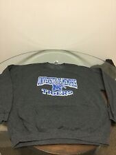 0760ca5f5 NWOT Memphis Tigers Gray Crew Neck Sweatshirt Football Basketball XL New