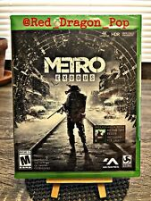 Metro Exodus: Day One Edition (Xbox One, 2018) NEW Sealed incl. Metro 2033 Redux