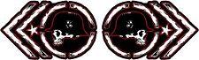 METAL MULISHA DECAL PAIR #13  Sticker, Truck Trailer Moto
