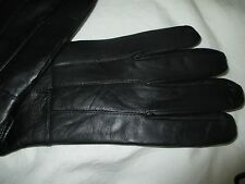 THINSULATE+3M+MENS+NEW+ BLACK LEATHER+GLOVES SIZE LARGE+ EXTRA SOFT LEATHER