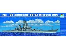 Trumpeter 05705 1/700 US Battleship BB-63 Missouri 1991