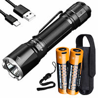 Fenix TK16 V2 3100 Lumen Long Throw Flashlight + 2x 21700 Rechargeable Battery