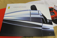 GENUINE FERRARI 360 SPIDER brochure Prospekt catalogue NOS 95992722