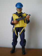WW2 WWII WAR HEROES German U-Boat Commander figure Mego Lion Rock copy 1983-1986