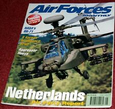Air Forces Monthly Magazine 1998 May SR-71 Blackbird,Netherlands,Bulgaria,Kunsan