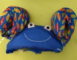 SwimSchool Swim School Tot Swimming Pool Trainer Arm Chest Frog Float Adjustable