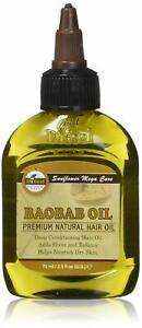 Difeel Premium Deep Conditioning Natural Hair Care Oil- Baobab Oil 2.5oz