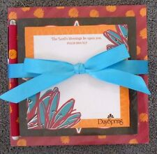 DaySpring 3-Tiered Memo Set with Pen w/ Scripture - New