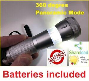 3 Modes Penlight 20000LM Waterproof LED Flashlight Torch Lantern Portable FM