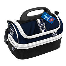 Geelong Cats AFL  Insulated Kids Back to School Work Lunch Box Cooler BAG Gift