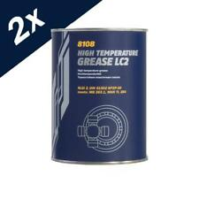2x800g Mannol LC-2 High Temperature Grease for Balls and Bearings / -35 to +170C